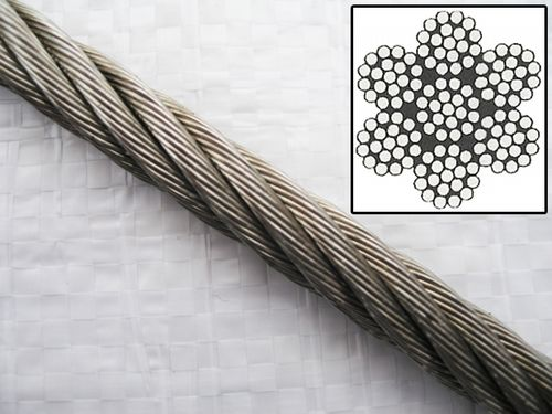 7 x 19, Stainless Steel, Wire Rope